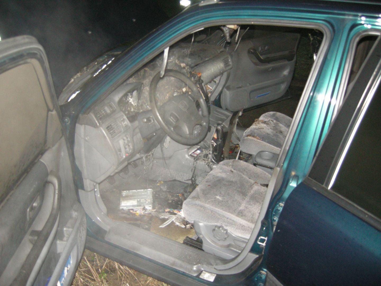 2018-12-12 SUV brennt
